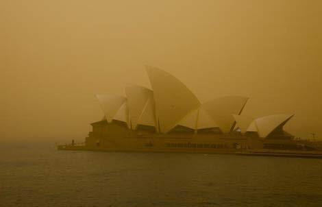 Sydney DC Dust Storm