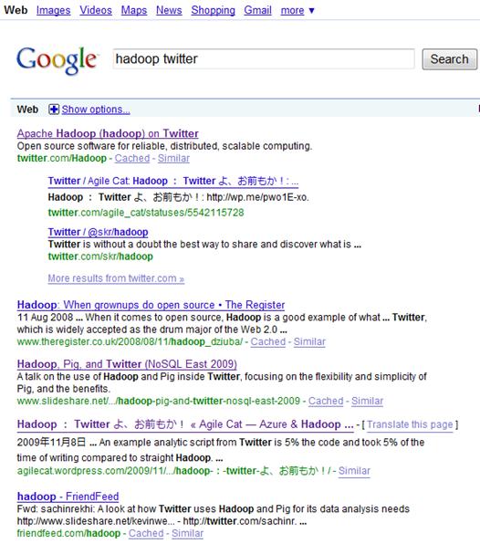AC on Google