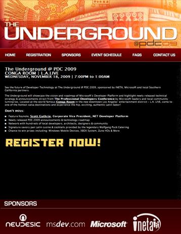 Underground PDC