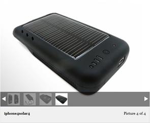 Solar iPhone