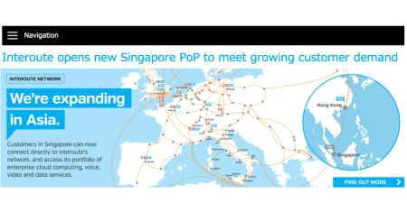 Interoute Singapore