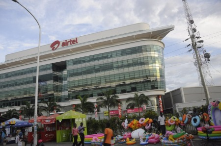 The_ship_like_building_of_Airtel_headquarter