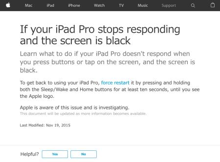 iPad Pro Problem