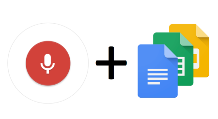 Google Docs with Voice