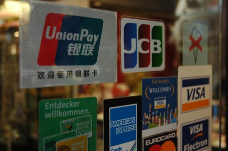 China UnionPay is supported widely in Germany